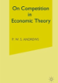 On Competition in Economic Theory